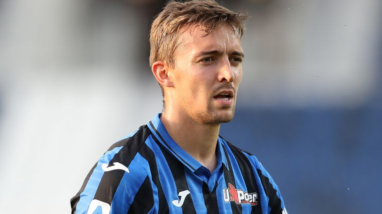 Belgian defender Timothy Castagne of Atalanta during the Serie A match at Gewiss Stadium, Bergamo. Picture date: 21st July 2020. Picture credit should read: Jonathan Moscrop/Sportimage