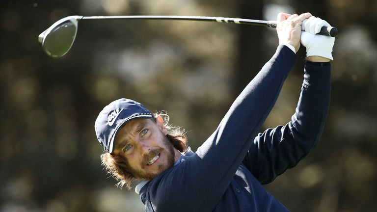 Fleetwood carded seven birdies on Friday morning