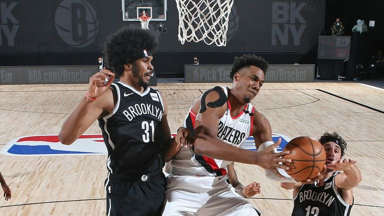 Portland Trail Blazers and the Brooklyn Nets
