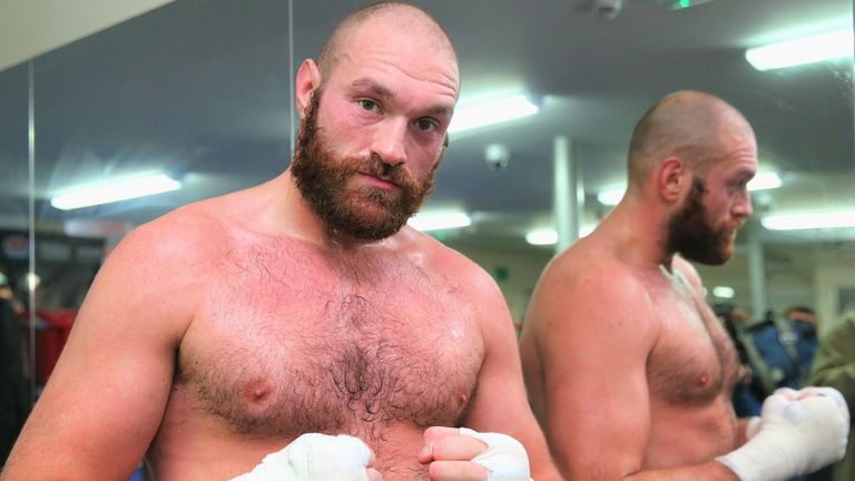 Tyson Fury is the No 1 heavyweight, in Gavern's opinion