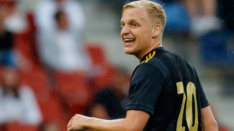 Van de Beek has made 10 appearances for the Netherlands