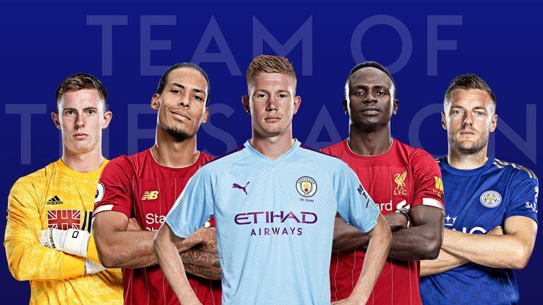 The Sky Sports Fantasy Football Team of the Season.