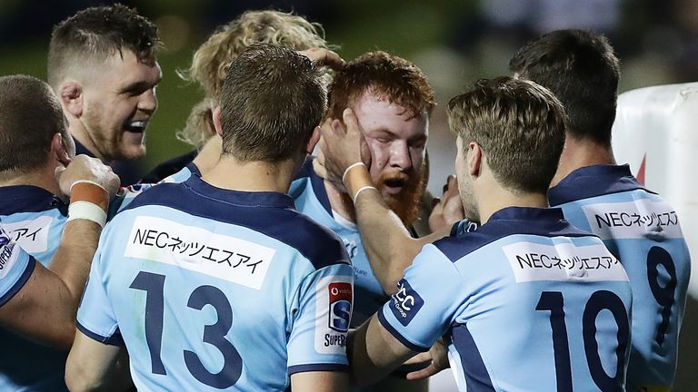 The Waratahs scored five tries, but did not win by enough to deny the Rebels a point