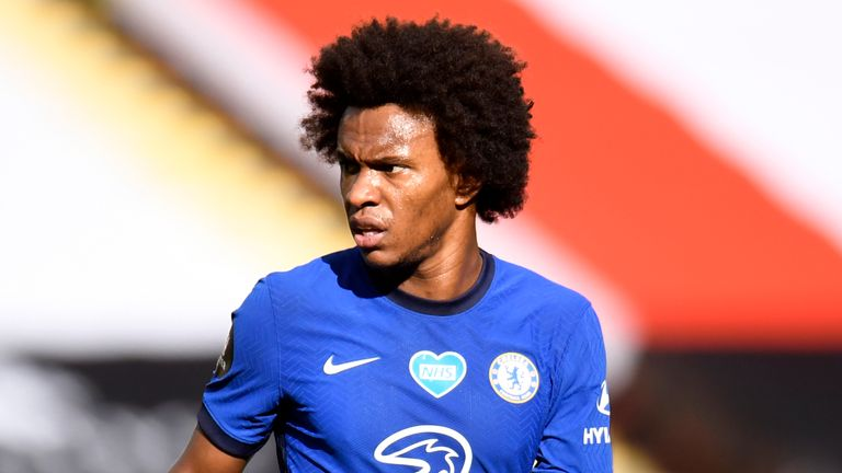 Willian looks set to become the latest player to move across London