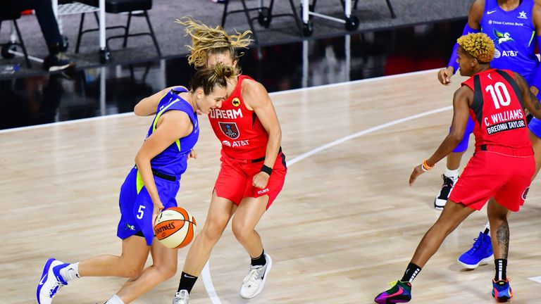 Highlights of the WNBA regular season game between the Atlanta Dream and the Dallas Wings from Florida.