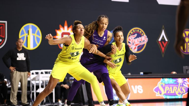 Highlights of the WNBA regular season game between the Phoenix Mercury and the Seattle Storm from Florida.