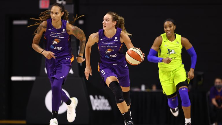 Highlights of the WNBA regular season game between the Phoenix Mercury and the Dallas Wings from Florida.