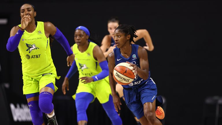 Highlights of the WNBA regular season game between the Dallas Wings and the Minnesota Lynx from Florida.
