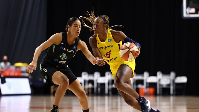 Indiana Fever and the New York Liberty