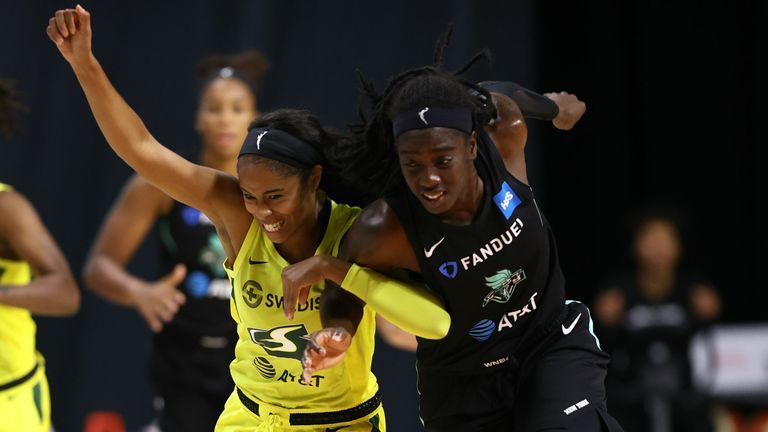 New York Liberty and the Seattle Storm