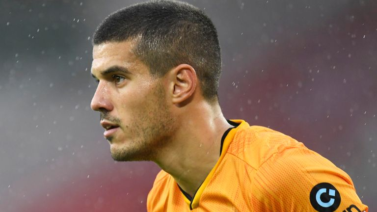 Wolves defender Conor Coady has received his first England call-up ahead of next week's Nations League double-header
