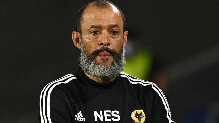 Nuno Espirito Santo led Wolves to the last eight of the Europa League