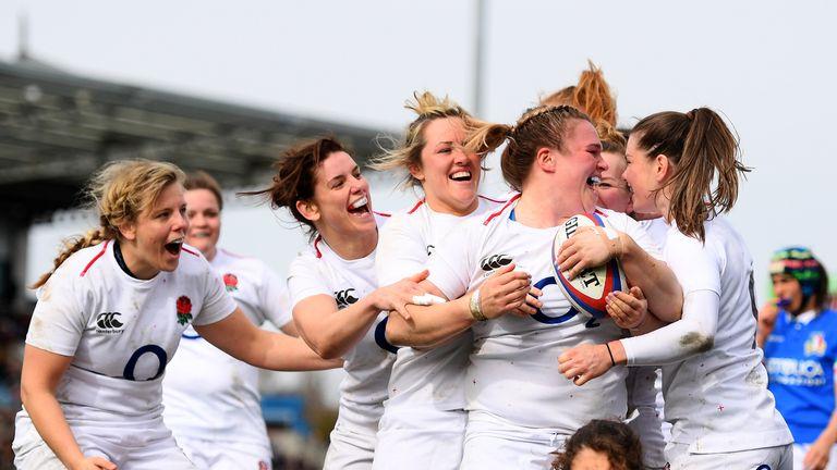 England Women v Italy