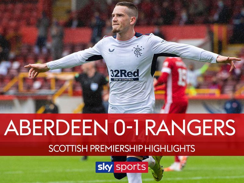 Aberdeen 0 1 Rangers Match Report Highlights