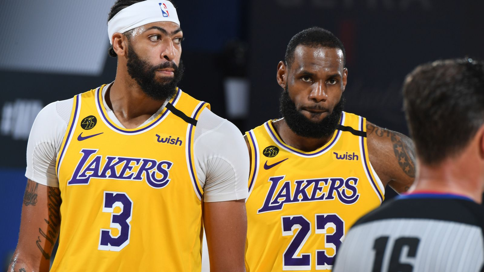 LeBron James and Anthony Davis power Los Angeles Lakers to brink of NBA Finals - Sky Sports