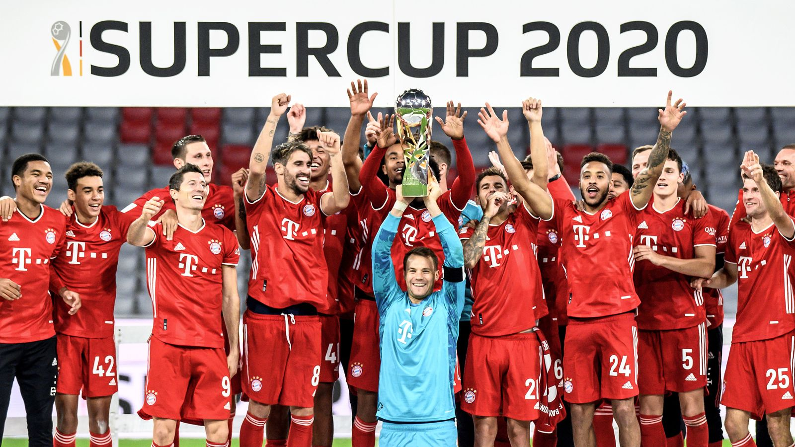 Bayern Munich Beat Borussia Dortmund To Clinch The German Super Cup While Real Madrid And Inter Milan Also Win Football News Sky Sports