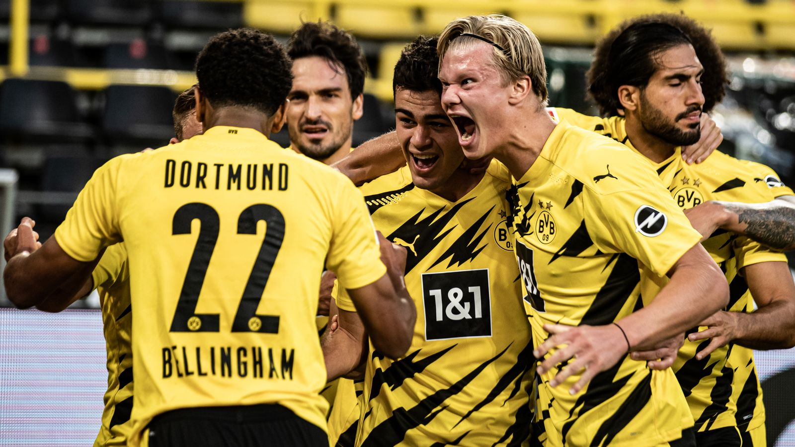 Jadon Sancho shines as Borussia Dortmund start Bundesliga season in style - European round-up