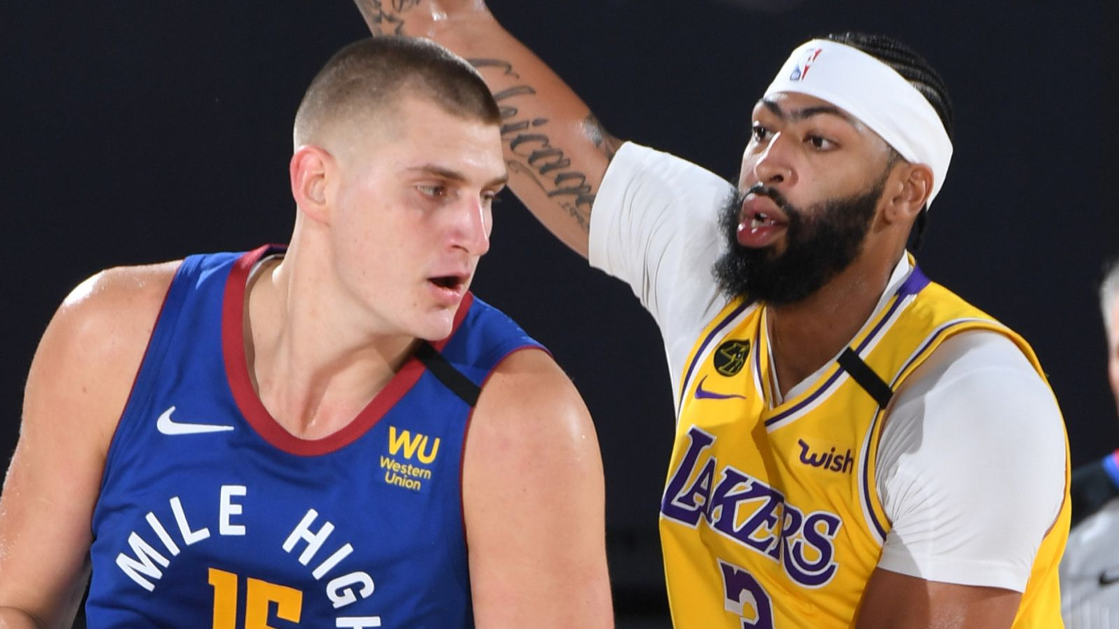 Anthony Davis and Nikola Jokic are two distinctly different 'unicorns'