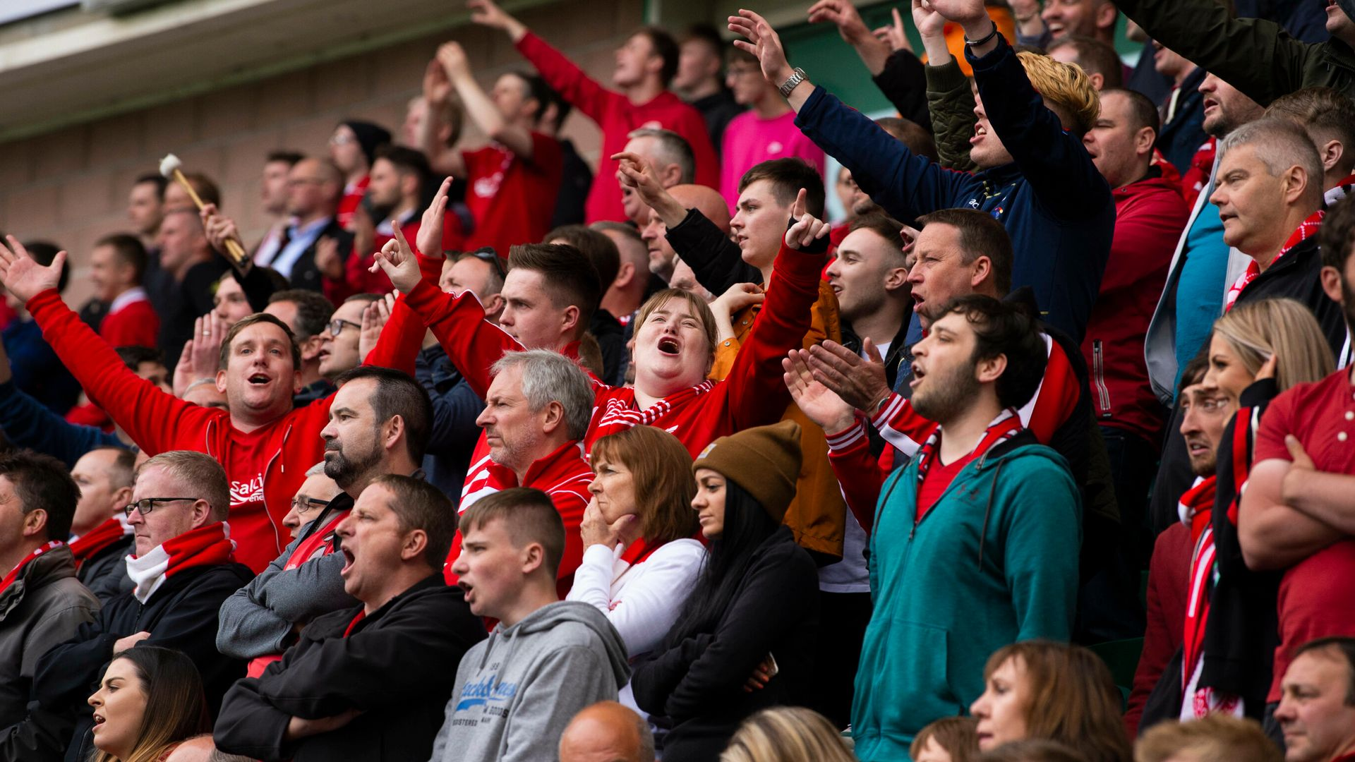 Fans to return for Saturday's Aberdeen, Celtic games
