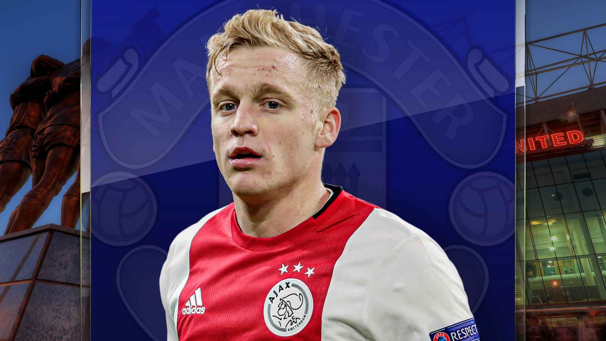 Donny Van De Beek To Manchester United Where Will He Fit In Football News Sky Sports