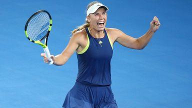 Former Australian Open champion Caroline Wozniacki has backed Liverpool to retain the Premier League title