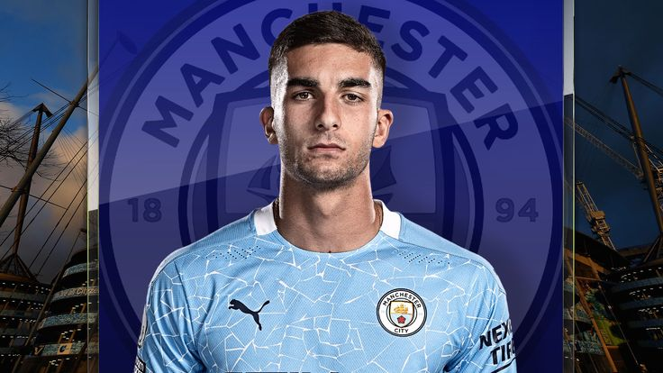 Ferran Torres arrived at Manchester City from Valencia for an initial fee of £20.9m