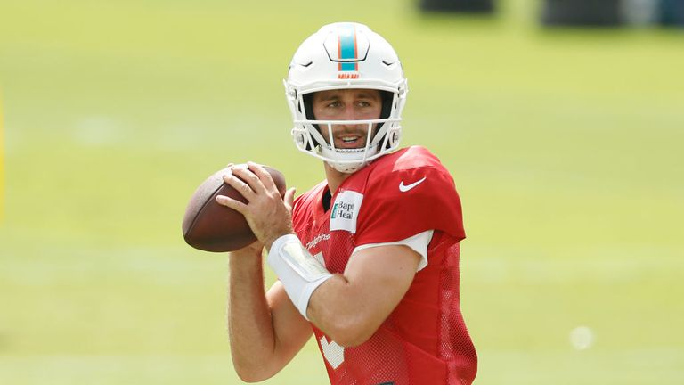 Miami Dolphins head coach Brian Flores explains why he released quarterback Josh Rosen and will go forward with Ryan Fitzpatrick and Tua Tagovailoa in the position.