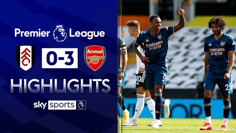 Fulham 0 - 3 Arsenal - Match Report & Highlights