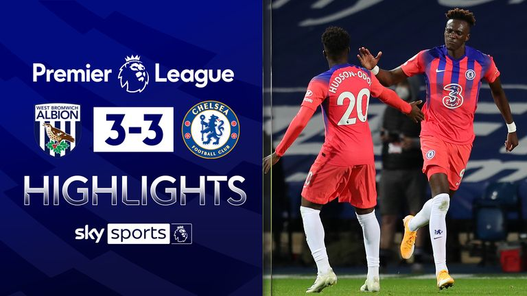W Brom 3 3 Chelsea Match Report Highlights