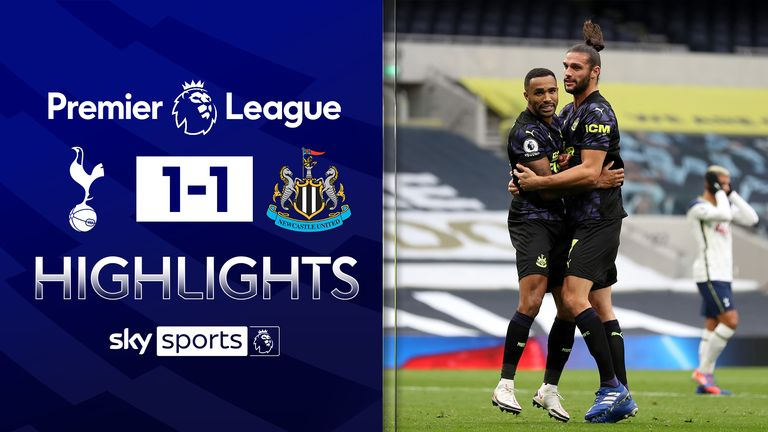 FREE TO WATCH: Highlights from Tottenham's draw with Newcastle