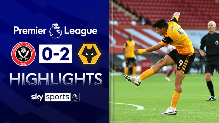 SHEFFIELD UNITED 0-2 WOLVES