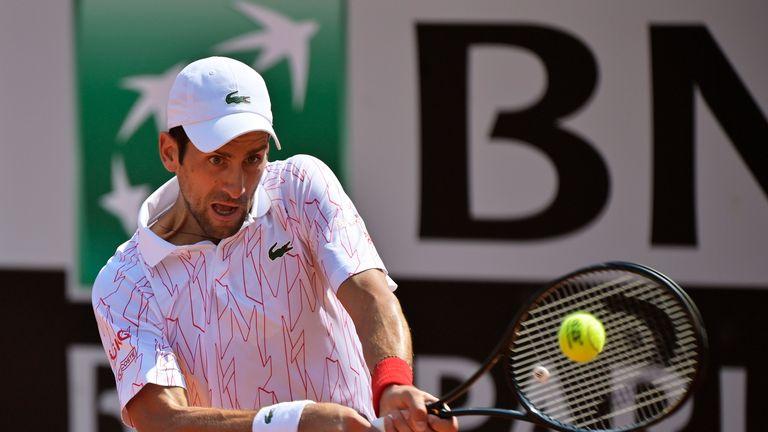 Italian Open Novak Djokovic Wins On Return After Us Open Incident Tennis News Sky Sports