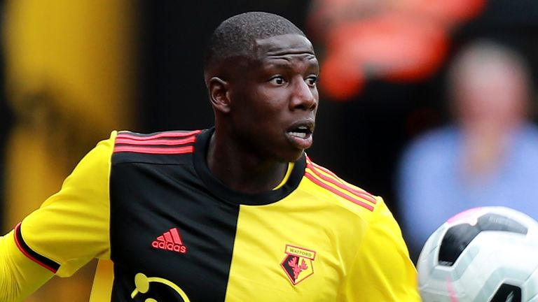 Abdoulaye Doucoure spent four years at Watford