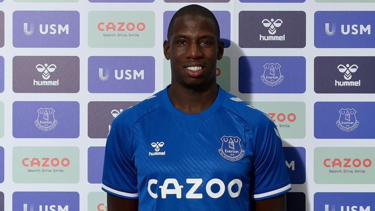 Abdoulaye Doucoure has joined Everton