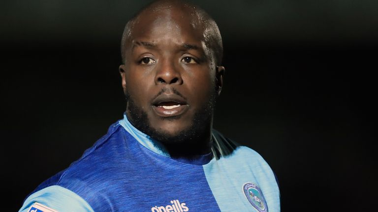 Adebayo Akinfenwa won promotion to the Championship with Wycombe last season