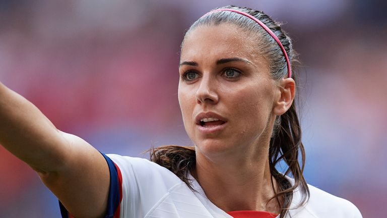 Alex Morgan is the latest US World Cup winner to join the WSL