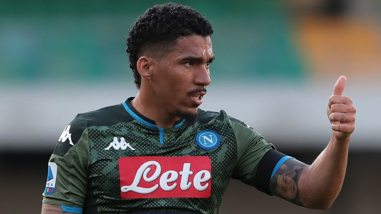 Allan has swapped Napoli for Everton after five seasons with the Serie A club