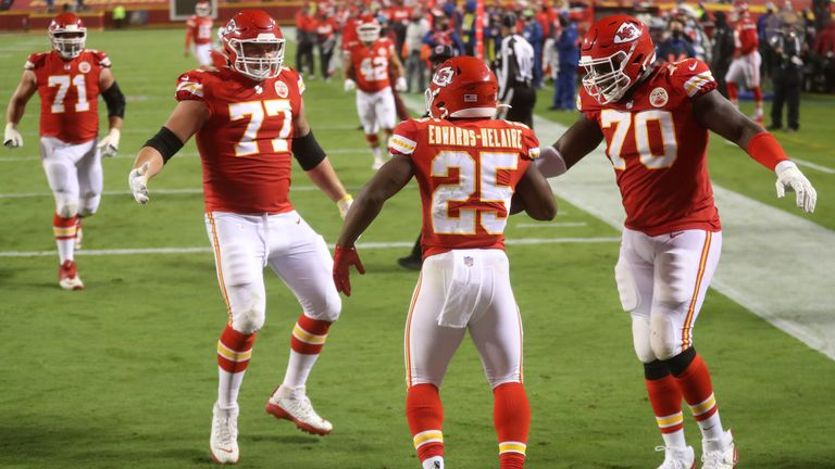 Highlights as the defending champion Chiefs beat the Texans 34-20 in NFL's season opener at Arrowhead Stadium