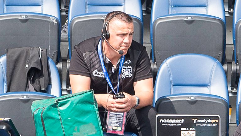Hull FC's coach Andy Last