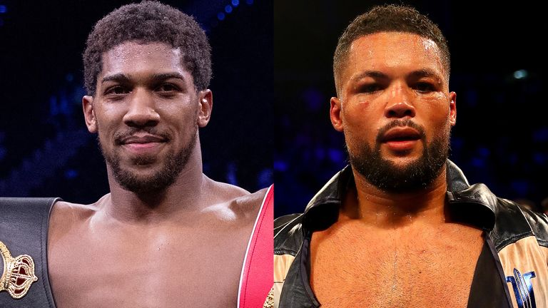 Anthony Joshua and Joe Joyce