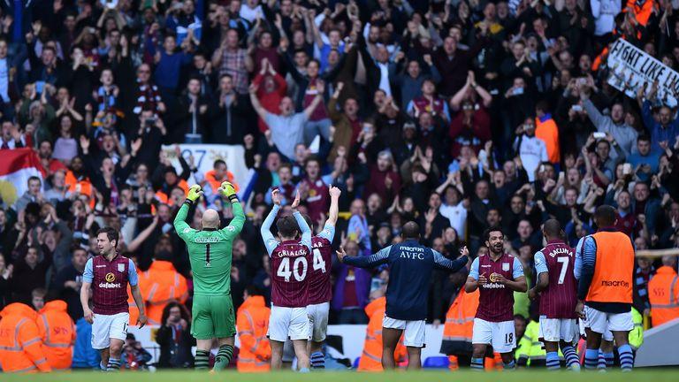 Aston Villa last won a Premier League game in London at Spurs in April 2015