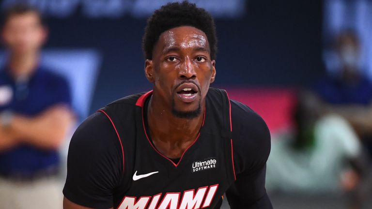 Bam Adebayo in action for the Miami Heat in their Eastern Conference Finals Game 4 win over the Boston Celtics