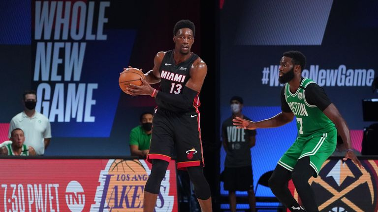 Check out Bam Adebayo's best plays so far this season as the Miami Heat prepare to face the Los Angeles Lakers in the NBA Finals.