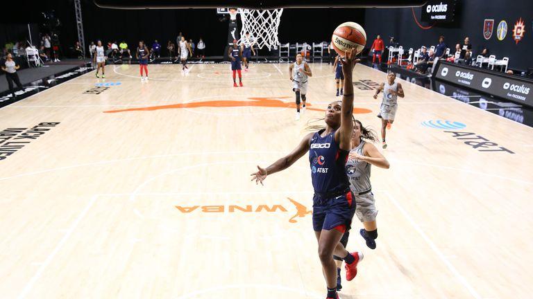 Highlights of the WNBA regular season game between the Minnesota Lynx and the Washington Mystics from Florida.
