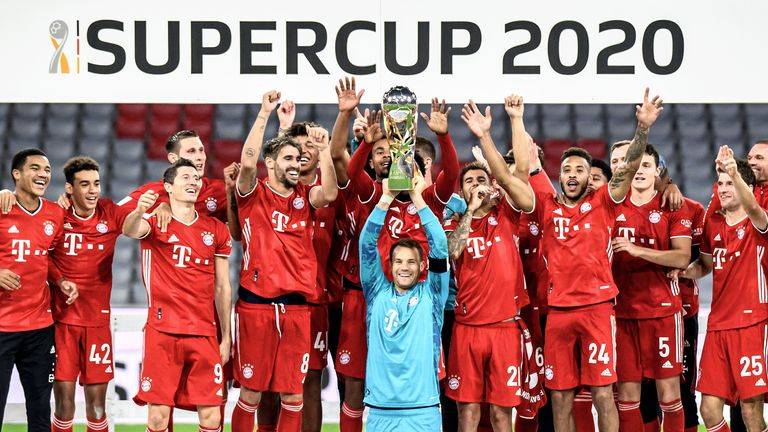 Bayern Munich lift the German Super Cup
