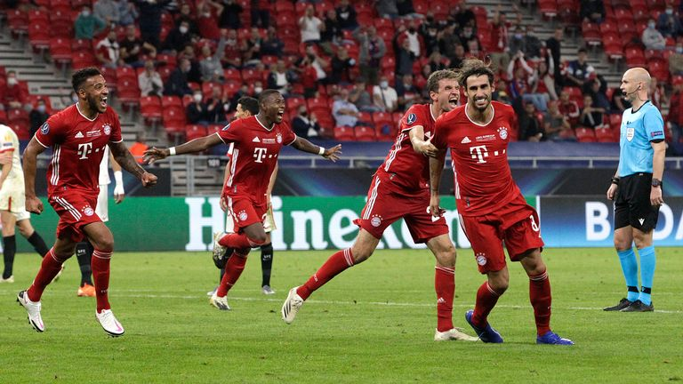 Bay Munich Sevilla Match Report Highlights