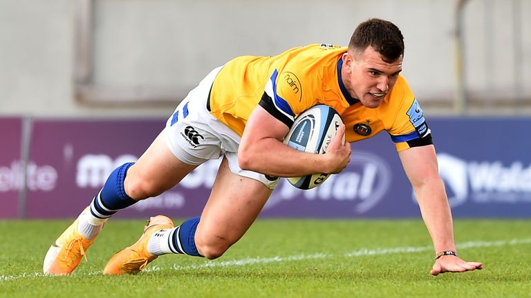 Ben Spencer ran in two tries to help Bath overcome Sale