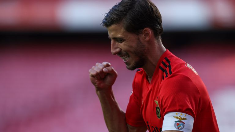 Dias scored Benfica's opener on Saturday in Benfica's 2-0 win against Moreirense