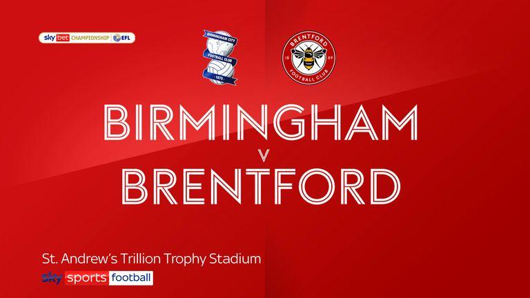 Birmingham v Brentford badge