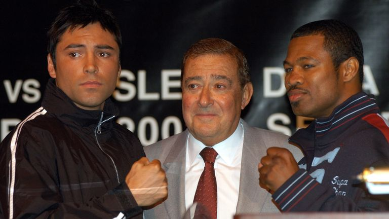 Oscar De La Hoya was promoted by Top Rank and is now Canelo's promoter